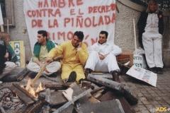 Huelga de  hambre 2001