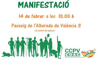 ¡Manifestación 14 de febrero!